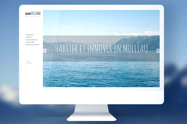 SUDVILLAGE page client site wordpress lyon agence responsible application webdesin graphisme illustration boutique ecommerce