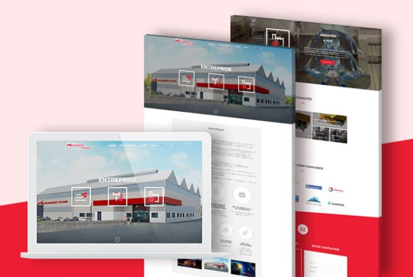 mecamont site wordpress agence arkanite lyon developpement web graphisme application mobile illustration logo