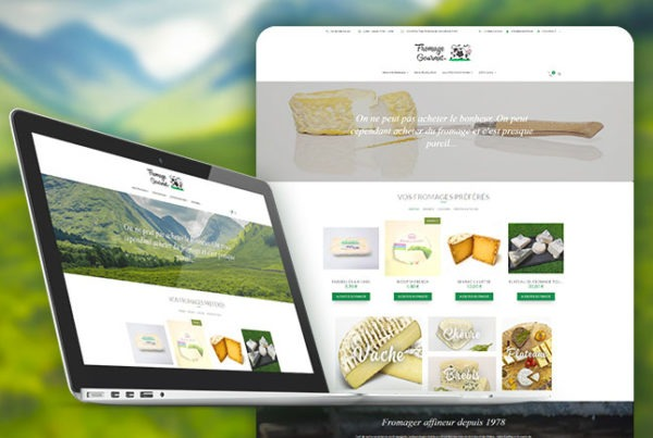 fromage gourmet smartphone boutique en ligne ecommerce lyon roanne agence creation developpement ios apple android smartphone site web wordpress responsive woocommerce