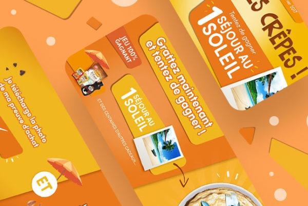 vahine jeu concours en ligne developpement agence web design lyon application mobile app site wordpress responsive boutique en ligne ecommerce illustration graphisme pao